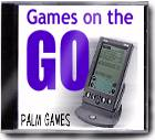 GAMES ON THE GO FOR PALM -WINDOWS PC CD-ROM- NEW & SEALED